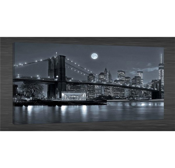 2019 New York Brooklyn Bridge Canvas Painting Living Room Home Decor Modern Mural Art Oil Painting From Wujia002 8 85 Dhgate Com