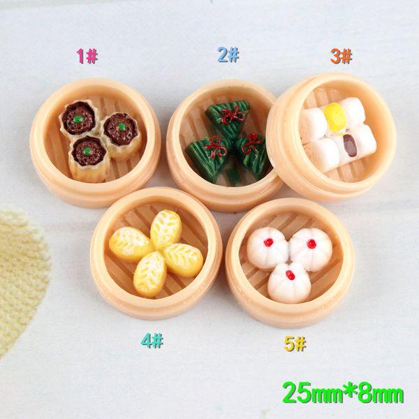 70pcs alta calidad 25 * 18mm Kawaii Food Cabochons de la resina de Flatback lindo de joyas DIY accesorios aguja ornamento del limo de materiales