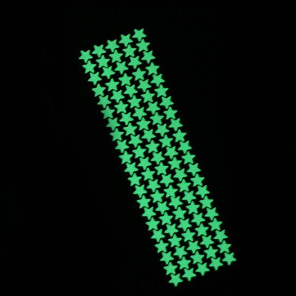 105pcs stars green