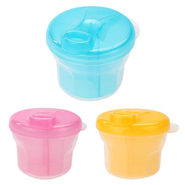 ilk powder dispenser Newborn Baby Milk Powder Formul Dispenser Kids PP Food Container Storage Feeding Box Kids Ecological Tableware Trave...