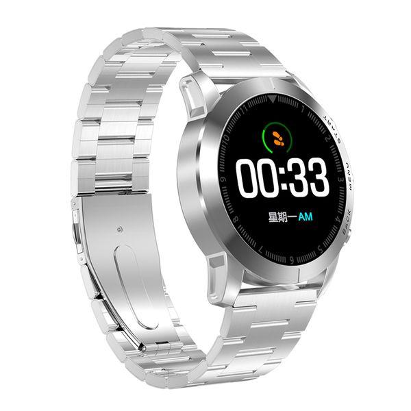 New S10 Smart Watch Men Full touch IP68 Waterproof Sport Watches Bluetooth Heart Rate Monitoring Fitness Tracker Women Bracelet