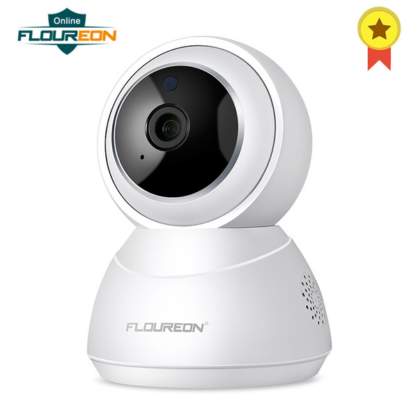 1080P HD Wireless IP Security Camera Pan/Tilt/Zoom Indoor Surveillance System with Smart Tracking Night Vision Two Way Audio
