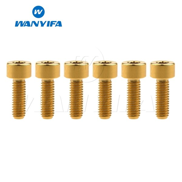 Gold M4x15mm