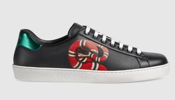 Run Men Ace Kingsnake print sneaker Roller Боевые искусства пешие прогулки Гольф фитнес Велоспорт Боулинг баскетбол кроссовки обувь туфли