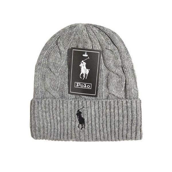 남성 비니 겨울 모직 모자 새로운 패션 여자 니트 두꺼워 따뜻한 폴로 비니 보닛 모자