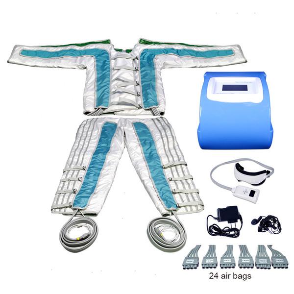 BR610 Luftdruck Pressotherapie Massage Lymph Detoxin Körper abnehmen (CE) Hot in Europe 3 in 1 Detox Pressotherapie Infrarot Abnehmen