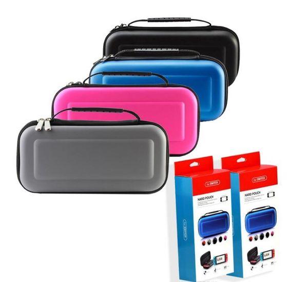 2019 heißer verkauf Für Nintendo Switch Game Tasche Tragetasche Harte EVA shell Hohe Qualität Tragbare Tragetasche Schutzhülle Tasche Schalter