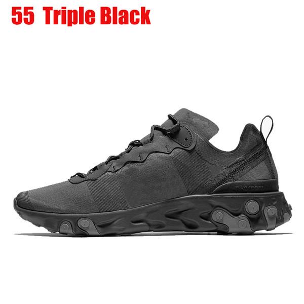 55 40-45 Üçlü Siyah