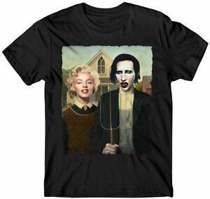 Gömlek Monroe ve ManBrandn Moda 3D Baskılı Erkek Kadın Rahat T Gömlek G54