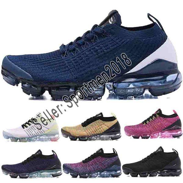 Acheter Nike Air Max Airmax 2019 Coussin D'air Tissage Chaussures De Marque Tn Plus Hommes Chaussures De Course Pour Femme Baskets Triple Blanc Noir
