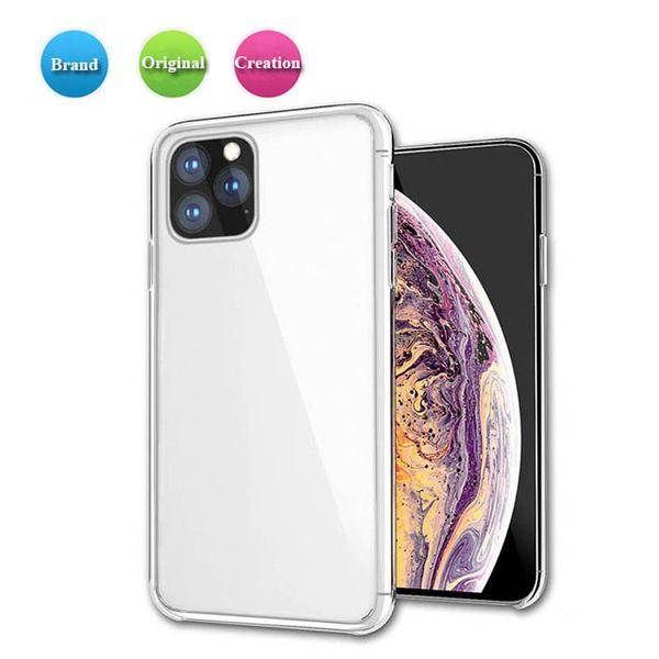 Caso para el iPhone 11 favorable caso max XS XS XR Max transparente cubierta de parachoques clara TPU caso de la cubierta ultra fina para Samsung note9