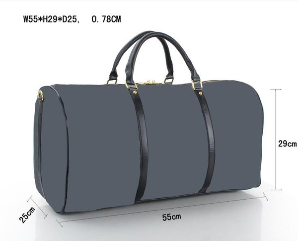 Hot sell 2018 new black men and women style travel bags Suitcases Luggages silver zipper with lock dust bag M41414 (4 color for pick)