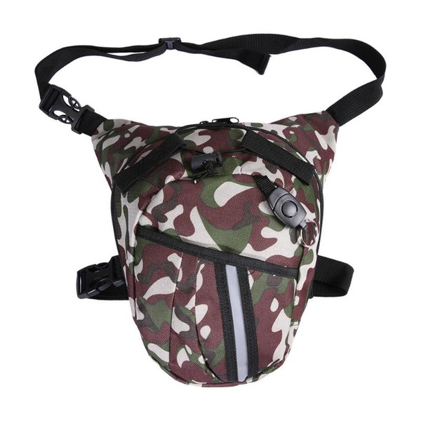 Canvas Fabric Waterproof Drop Waist Leg Bag Less than Outdoor Motorcycle Riding Hip Bum Belt Fanny Indoor Bag Pack #86780