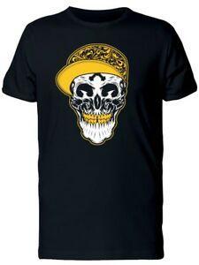 T-shirt da uomo con cappuccio giallo -Immagine di RoRock