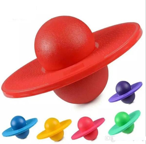Yoga alta de rebote Equilibrio espacio en la placa de salto de bola inflable de juguete de bolas de bolas tolva de roca Pogo de salto de la aptitud Ejercicio de rebote