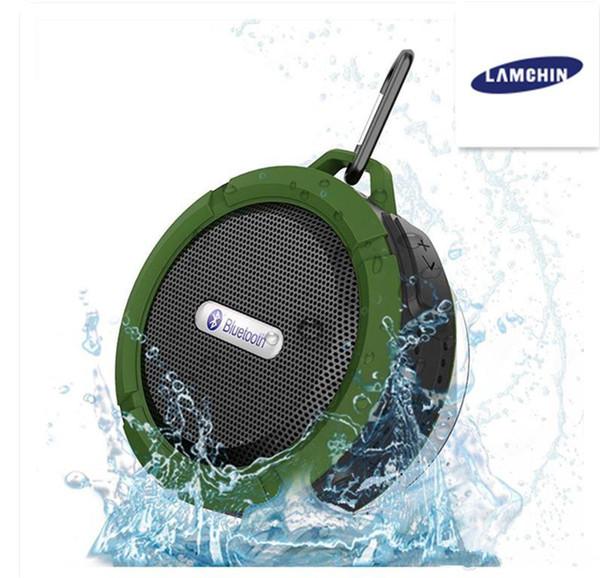 Wasserdichte drahtlose Bluetooth-Lautsprecher-Duschlautsprecher mit 5W starkem Fahrer Lange Akkulaufzeit und Mikrofon und abnehmbarer Saugnapf
