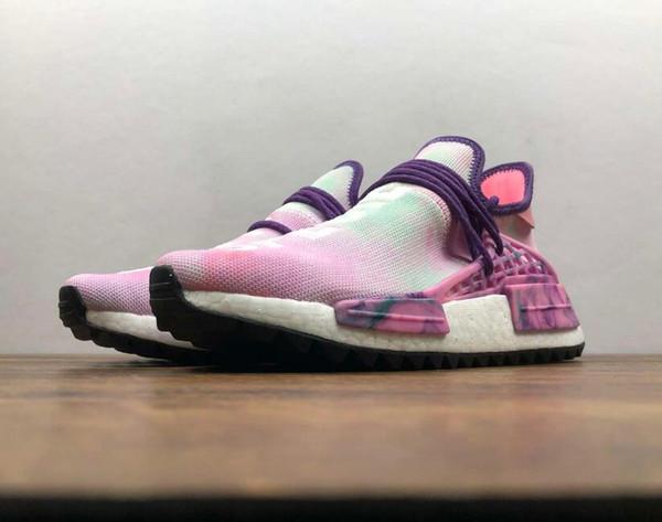 Br Hu Trail Pharrell Williams Human Race For Nerd Black Cream Holi Mens Trainers Women Designer Sports Runner Sneakers Size 5 11 Shoes Online