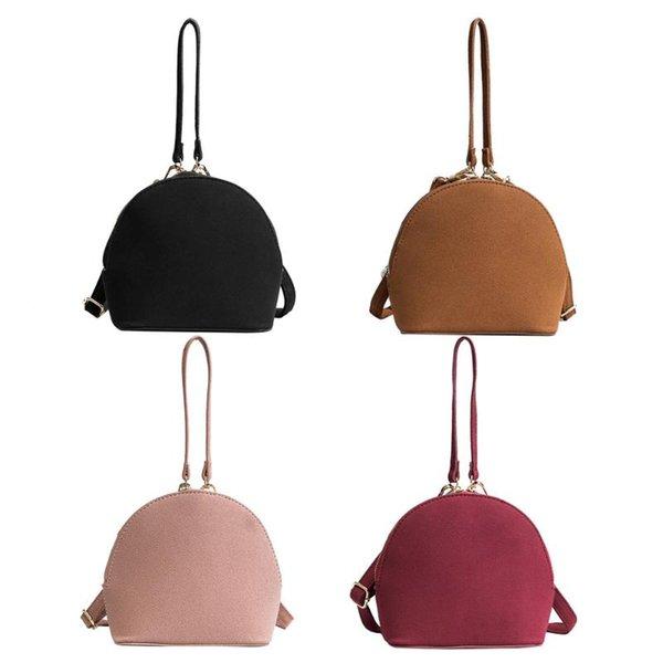 Women High-grade Scrub PU Wristlets Shell Clutch Bag 2017 New Fashion Simple Small Tote Shoulder Crossbody Bag