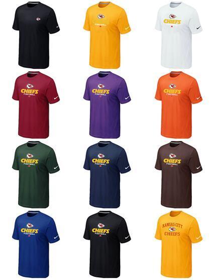 Новый тренд Kansas Men Chiefs Sideline Legend Аутентичная полихромная футболка с логотипом HeartDri-FIT