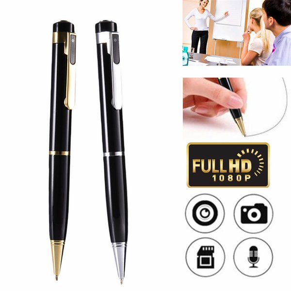 1080P Mini Pen Camera New Small Pen USB DV DVR Portable Mini Camcorder for Indoor and Outdoor Body Cam Surveillance Video Camera with Box