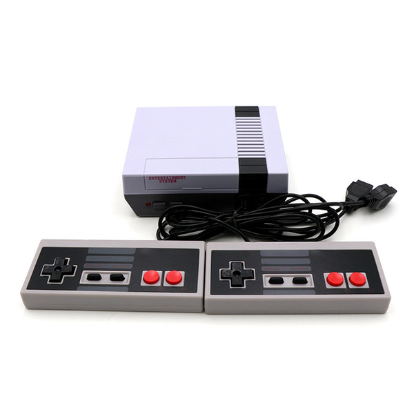 best selling The New Mini Game Console Can Store 620 Games NES And Retail Box Free Shipping Cradle Design