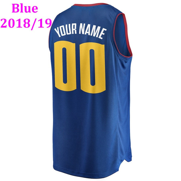 online store b1b51 029d6 2019 2019 Basketball Jerseys Denver Mens Youth Woman Kids Icon City Edition  College Team Authentic Replica Custom Basketball Jersey 4xl 5xl 6xl From ...