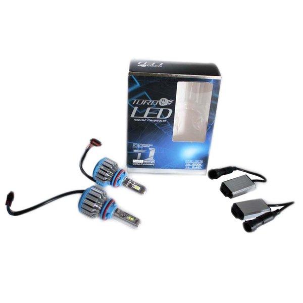 XIANGSHANG Led Lampe De Brouillard De Phare De Voiture H11 Xenon Blanc Ampoule 35W 3500Lm Remplacement Antibrouillard Auto Eclairage Externe Jouer Et Brancher