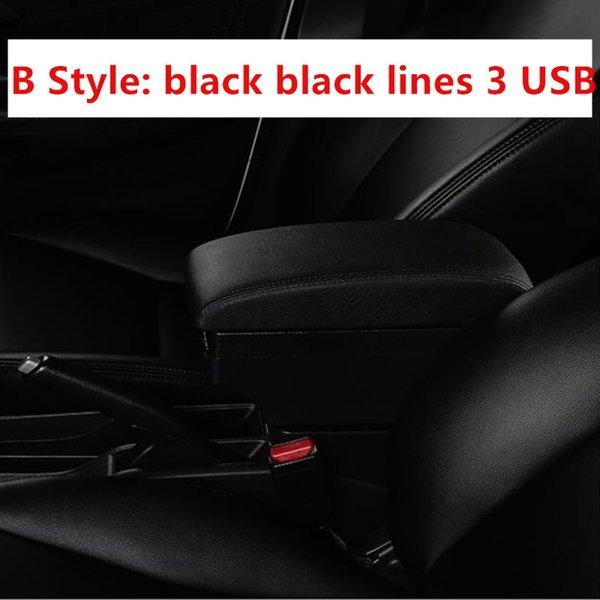 B Black черная линия