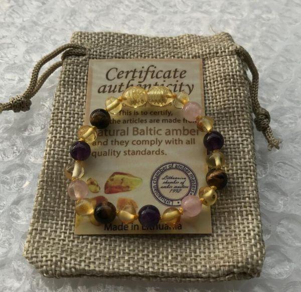 Design 1 14cm baby bracelet