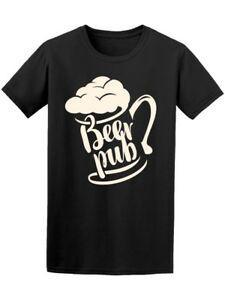Bar à bières avec un verre pour homme 039 s Image de Fashion