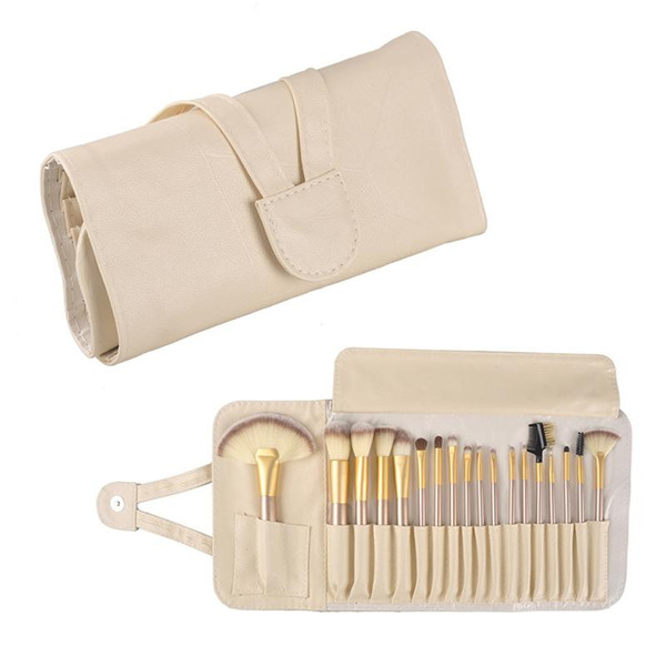 12/18/24 pcs kit de maquiagem pincel de maquiagem profissional escovas fundação blush em pó blush delineador ferramenta de maquiagem escova de cosméticos