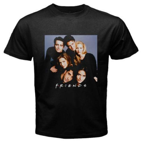 New FRIENDS 90's Best TV Series Show Men's Black Men Women Unisex Fashion tshirt Free Shipping Funny Cool Top Tee White