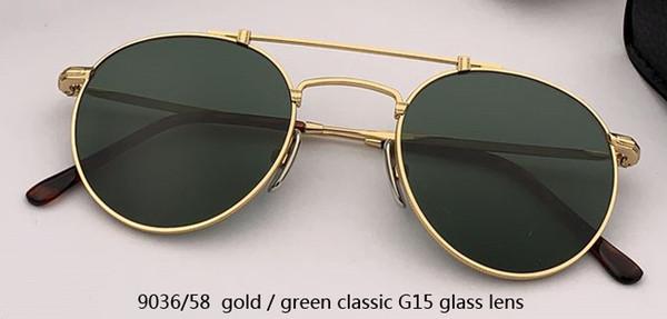 9036/58 oro / verde clásico G15