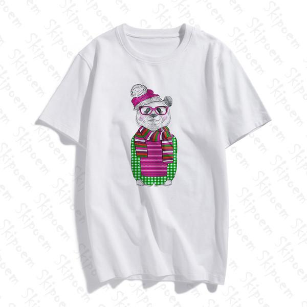 New Fashion Cotton Female T-shirt Funny Gentleman Simple Artwork Print Short Sleeve Tops & Tees Casual T Shirt Brand