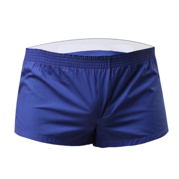 Hommes Solide Couleur Sports D'été Gym Taille Élastique Shorts Plage Natation Trunks Nouveau