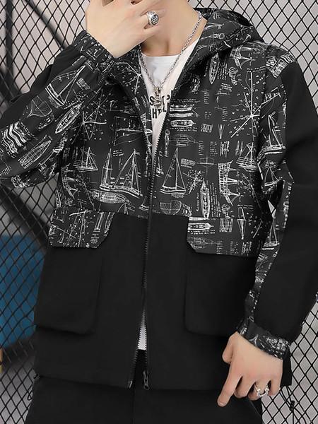 Designer Großhandel Mens Womens Designer Jacken Mäntel Frühling Herbst Reißverschluss Hoodies Mode Sport Jacken Langarm Mäntel S-2XL B100196Q