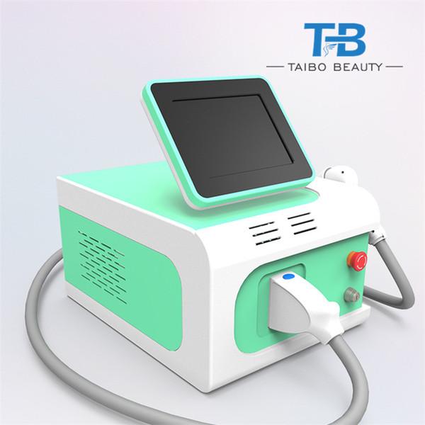 2019 La mejor y más popular máquina de láser de diodo de depilación permanente 808nm para uso en salones de belleza