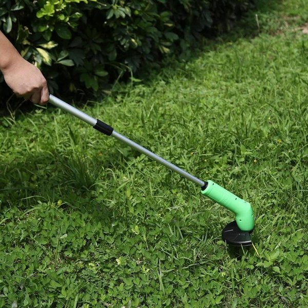 Portable Grass Trimmer Cordless Garden Lawn Edger Cutter Zip Ties Kits Grass Mower Powerfully Courtyard Mowing Pruning Tool