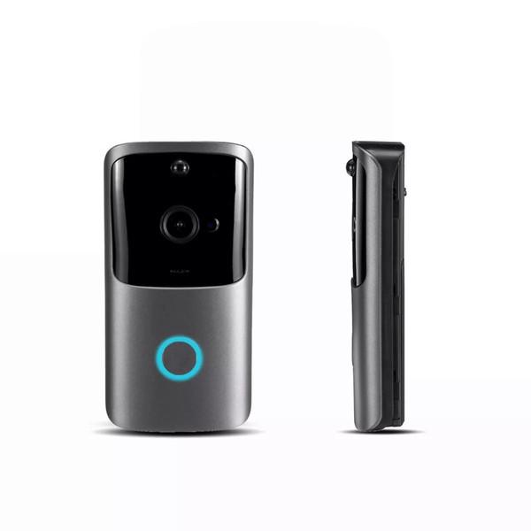 720P HD Smart WiFi DoorBell Video Visual PIR Camera Intercom Home Security M10