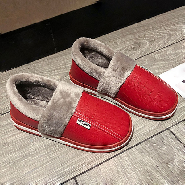 2020 winter couples slippers cotton handbag with indoor boot warm autumn antiskid lovely home mixed antiskid platform shoe shoes