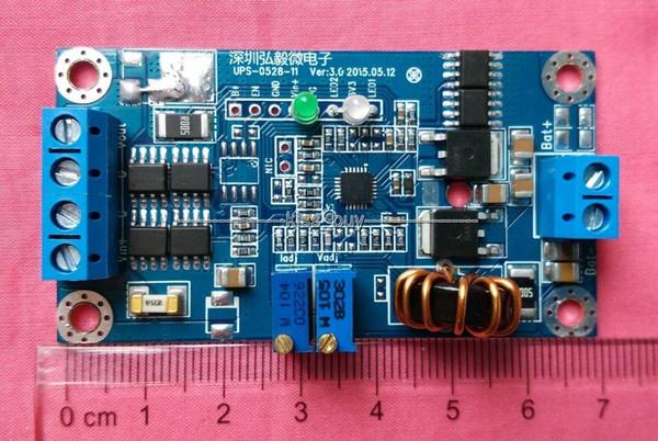 Freeshipping 8A Lithium / Bleibatterie Lademodul konstanter Strom DC UPS / Leistung 12V 24V 19V