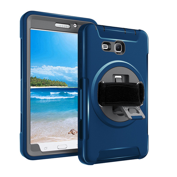 Shock Proof Foam Cover Case Belt Clip Holster w/ Stand for Samsung Galaxy TAB3 A6 T280 7-Inch Tablet