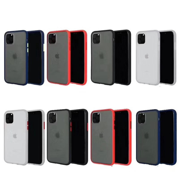 2in1 pc tpu colorfull frame hockproof phone ca e for iphone x xr x max 6 7 8 plu clear oft full protective back cover for am ung huawei