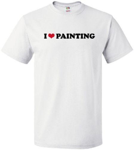 Eu PINTURA DO CORAÇÃO Arte Legal do Desenho Expressão Criativa LOVE T-ShirtMen Mulheres Moda Unissex tshirt Frete Grátis