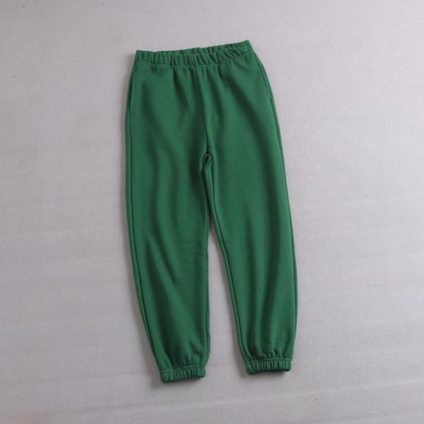 pantaloni verdi profondi