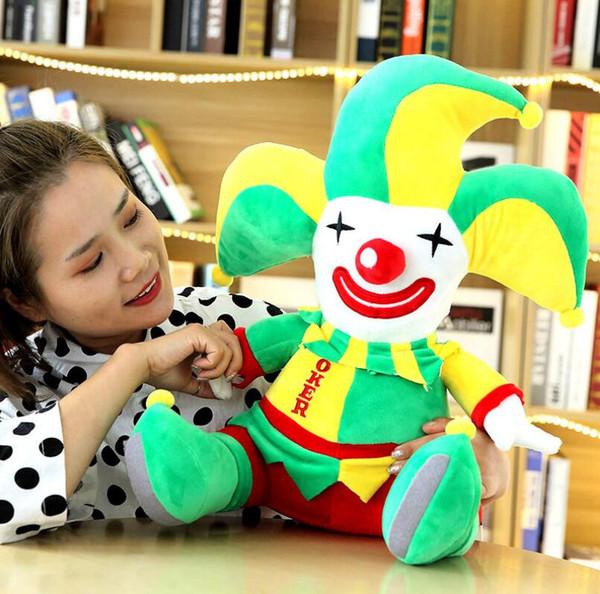 28 centimetri peluche animali bambola pagliaccio farcito animale orsacchiotto copertura peluche morbido giocattolo copertura del cuscino per bambini bambino regalo per adulti