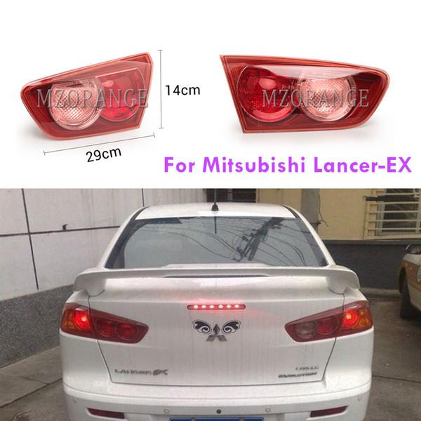 1 PCS arrière à l'intérieur Lumière pour Mitsubishi Lancer EX-2007-2014 Gyrophares Aucune ampoule de frein arrière Pare-chocs d'arrêt lampe