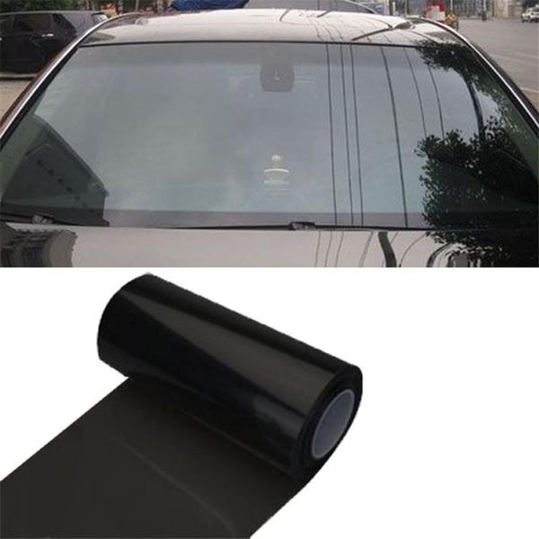 Авто Автомобиль оттенок фар задний фонарь противотуманные фары винил дымовая пленка 12 дюймов х 48 дюймов 35