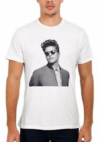 Bruno Mars Chanteur RB Funk Pop Wholesaleul Hommes Femmes Débardeur Débardeur Unisexe T Shirt 1959