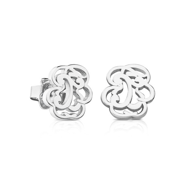 DORAPANG NEW 100% 925 Sterling Silver New Bear Hollow Earrings Earrings Female 712333520 Factory Wholesale Free Shipping
